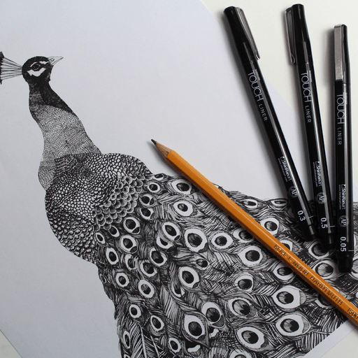 Overjoyed Ideas Get Ideas On Drawing A Zentangle Peacock