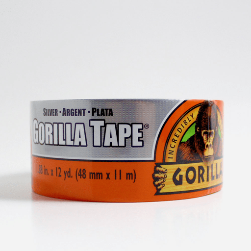 7216cd6239 GORILLA Silver Tape 2""