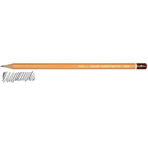 20 DEGREES AVAILABLE ONE PENCIL KOH-I-NOOR 1500