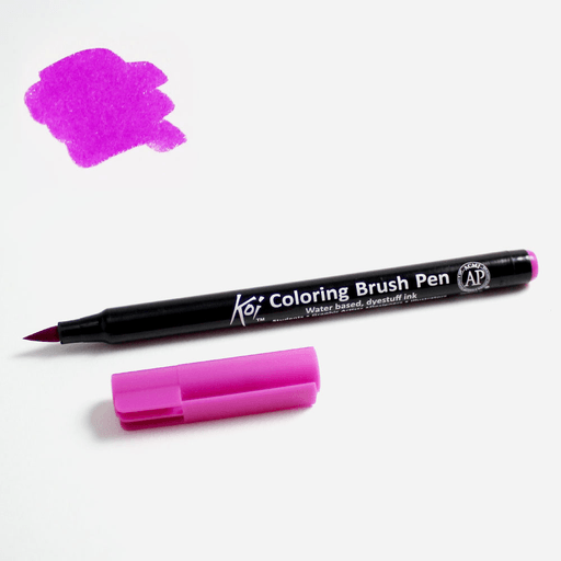 Overjoyed | Buy SAKURA Koi Coloring Brush Pen 124 Iris | FREE ...